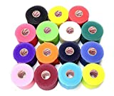 Mueller Underwrap - PreWrap for Athletic Tape/Taping/Head/Hair Bands - Rainbow Assorted Colors - 12/PACK (Health and Beauty)