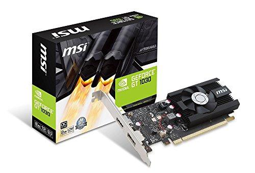 MSI GeForce GT 1030 2G LP OC グラフィックスボード VD6348