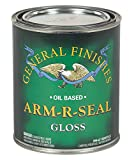 General Finishes Arm-R-Seal Oil Based Topcoat, 1 Quart, Gloss
