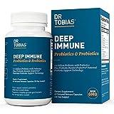 Dr. Tobias Deep Immune Probiotics & Prebiotics Supplement, 60 Capsules