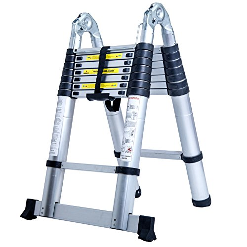 1. C.S.L Aluminum Multi Purpose Ladder
