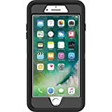 OtterBox Defender Series Case for iPhone 8 Plus and iPhone 7 Plus - Retail Packaging - Black