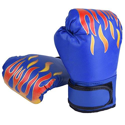 GLOGLOW Guanti da boxe per bambini 3 colori Guanti da boxe per bambini MMA Guanti da allenamento...