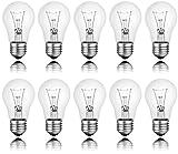 Spectrum W0J80564 Lot de 10 ampoules à incandescence Clair E27 100 W