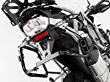 Motorize-SW-Motech Quick Lock EVO Portaequipajes Negro Apto para BMW R 1200 GS (13-).
