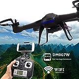 Yacool   Nighthawk Dm007w Wifi en tiempo real 2.4g más nuevo Rc Quadcopter Drone RTF UAV ingenio UFOh FPV cámara
