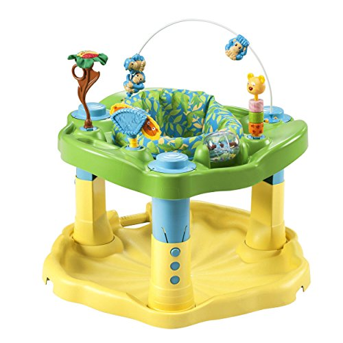 9. Evenflo Exersaucer Bounce and Learn, Zoo Friends