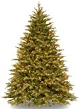 National Tree Company 'Feel Real' Pre-lit Artificial Christmas Tree | Includes Pre-strung White Lights and Stand | Nordic Spruce - 7.5 ft