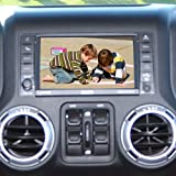 Jeep Wrangler OEM Fit Backup Camera System for Factory Display Radios
