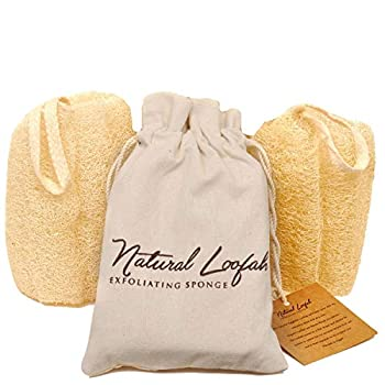 NATURALLY SAFE & NONTOXIC: Synthetic shower poufs can be loaded with harmful chemicals. But your Crafts Of Egypt luffa sponges are all-natural & eco-friendly with nothing artificial. SOFTER YET MORE EFFECTIVE: Forget those harsh, scratchy Chinese loo...