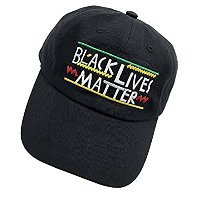 100% COTTON MADE : Comfortable & Durable Run Cap 2013 Campaign Plain Cap :Black Lives Matter-High Quality 3D Embroidered Front ADJUSTABLE SNAPBACK HAT : Use the Convenient Metal Buckle Back Closure to Great Fit for Your Head Unisex Six Panel Hat : Un...