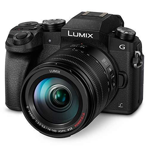 Panasonic LUMIX G7 4K Mirrorless Camera, with 14-140mm Power O.I.S. Lens, 16 Megapixels, 3 Inch Touch LCD, DMC-G7HK (USA BLACK)