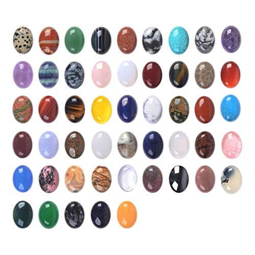 Wholesale Lot 24pcs Multi-Color 20mm Gemstone Oval Cab...