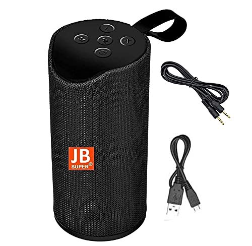 JB Super Bass Portable Wireless Bluetooth Speaker jb01 with Aux Cable 10W with Built-in mic, TF Card Slot, USB Port - Multi Color