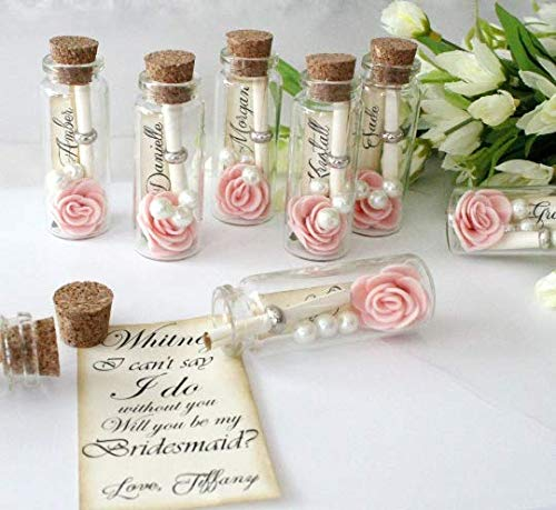 Bridesmaid Proposal- Message in a Bottle- Bridesmaid Gift -...