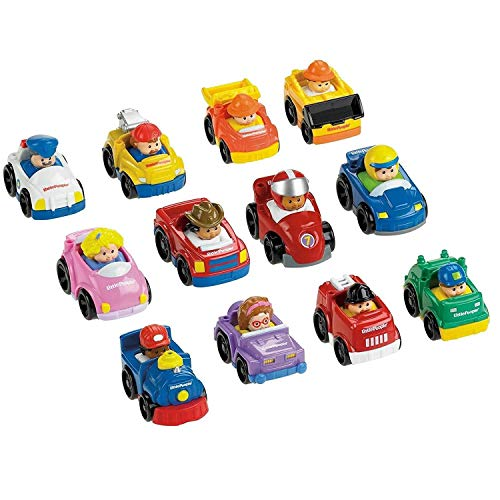 Little People Wheelies Vehicles - 6 Pack
