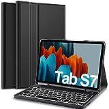 IVSO 7 Couleurs Trois partition rétroéclairé Clavier pour Samsung Galaxy...