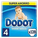 Dodot Bebé-Seco Pañales con Canales de Aire, Talla 4, 2 Unidades x 64...