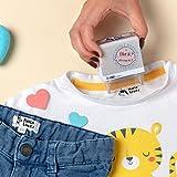 Tampon personnalisé pour vêtements et les livres pour enfants, 9 motifs exclusifs au choix, marqueur de vêtements personnalisé