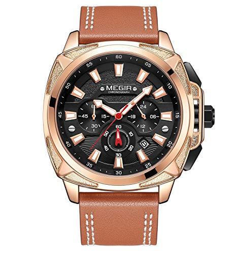 MEGIR - Herren -Armbanduhr- 2128