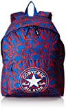 Converse SA410363-A17 - Mochila escolar azul letras rojas 34 x 44 cm