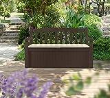 Koll Living Garden Gartenbank mit 265 Liter Stauraum - 4