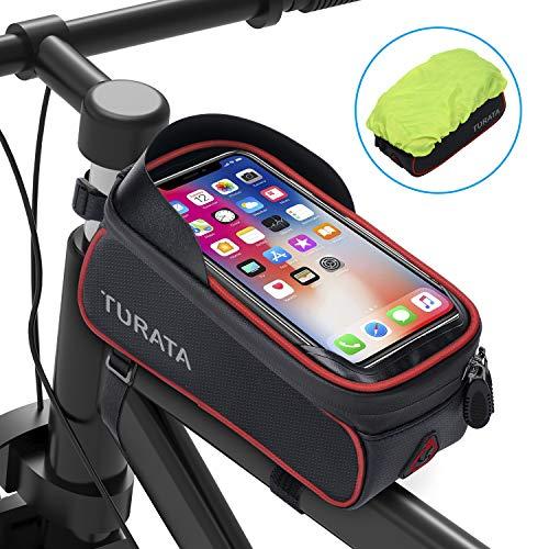TURATA Bolsas de Bicicleta, Bolsa Impermeable para Bicicleta