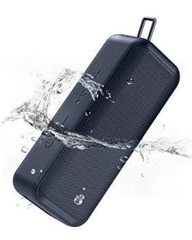 AUKEY Enceinte Bluetooth, Enceinte sans Fil avec Son stéréo Puissant et Basses,TWS Enceinte Bluetooth Portable,IP67 étanche,Autonomie de 28 Heures La pour Maison à L'extérieur