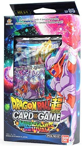 Bandai BCLDBSP1176 Dragon Ball Super Card Game: Special Pack Set-Miraculous Revival