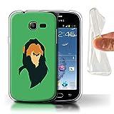 Coque pour Samsung Galaxy Trend Lite/S7390 Animaux Africains Dessin Animé...