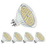MR16 GU5.3 LED Ampoule Blanc Chaud 12V,5W Equivalent à 50W Halogène...