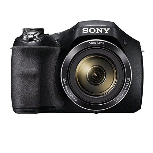 Sony DSC-H300 - Cámara compacta de 20.1 MP (pantalla de 3', zoom óptico 35x, estabilizador de imagen electrónico, vídeo HD 720p), negro
