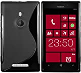 Mumbi Coque pour Nokia Lumia 925 Noir
