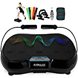 FITPULSE Classic Vibration Plate Exercise Machine - Vibration Platform Machine Vibrating Platform Body...