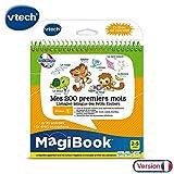 VTech - Livre MagiBook - Mes 200 premiers mots Français/Anglais - apprendre l'anglais - livre bilingue, livre éducatif