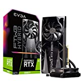 EVGA GeForce RTX 2080 Ti FTW3 Ultra Hybrid Gaming, 11GB GDDR6, RGB LED & iCX2 Technology - 9 Thermal Sensors Graphics Card 11G-P4-2484-KR