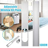 Universal Window Seal Set with Adapter for Portable Air Conditioner and Tumble Dryer - Works with Every Mobile Air-Conditioning Unit (Universal Window Seal Set with Adapter)