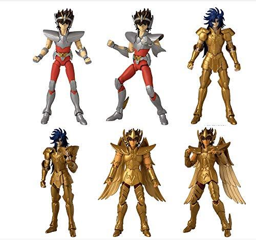 Boneco os cavaleiros do zodíaco pegasus seiya anime heroes bandai - suika