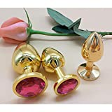 Doc Mao 3 pièces Pl-UG Game Toy Golden pour Game Play (Rose Red)