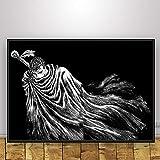 wZUN Impresión HD Lienzo Moda Berserker Anime póster decoración del hogar Pintura Pared Arte Imagen Dormitorio 50x75cm Sin Marco
