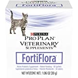 Purina Pro Plan Veterinary Diets Probiotics Cat Supplement, Fortiflora Feline Nutritional Supplement - 30 ct. Box