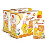 Happy Baby Organic Stage 3 Baby Food Hearty Meals Harvest Vegetables & Chicken w/ Quinoa 4 Ounce Pouch (Pack of 16)