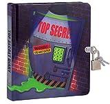 Top Secret Glow in The Dark Lock and Key Diary