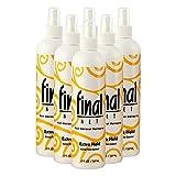 FINAL NET, Hairspray, Extra Hold, Non-Aerosol, 8 oz, (6 Pack)