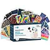 WeCare Disposable Face Mask Individually Wrapped - Variety Mystery Box - 50 Assorted Colored and Print Masks