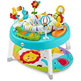 Fisher-Price 3-in-1 Sit-to-stand Activity Center [Amazon Exclusive], Multicolor