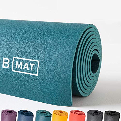 B YOGA Strong 6mm B Mat, 100% Rubber High Performance Super...