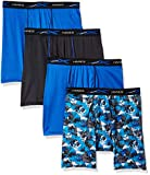Hanes Men's X-Temp 4-Way Stretch Mesh Boxer Brief 4-Pack, assorted, X Large (Colors and/or patterns can vary)