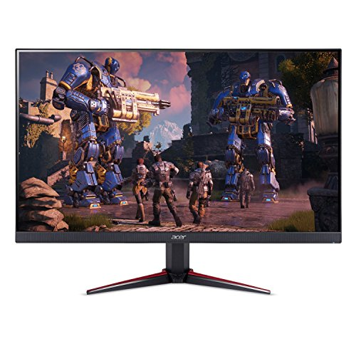 Acer Nitro VG240Y bmiix 23.8' Full HD (1920 x 1080) IPS Monitor with AMD Radeon FREESYNC Technology - 1ms VRB | 75Hz Refresh | (2 x HDMI Ports & 1 x VGA)