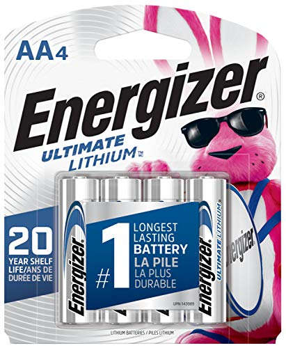 Energizer AA Lithium Batteries, Double A...